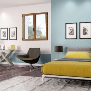 Image 3d d'une fenêtres dans une chambre