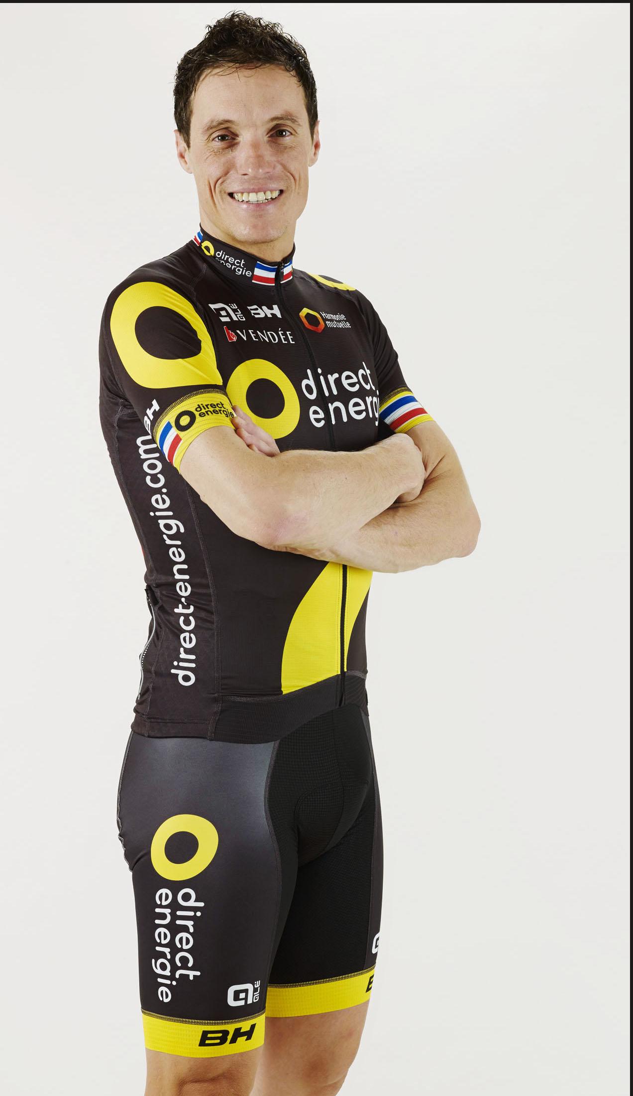 Portrait d'un cycliste du Tour de France DIrect-énergie