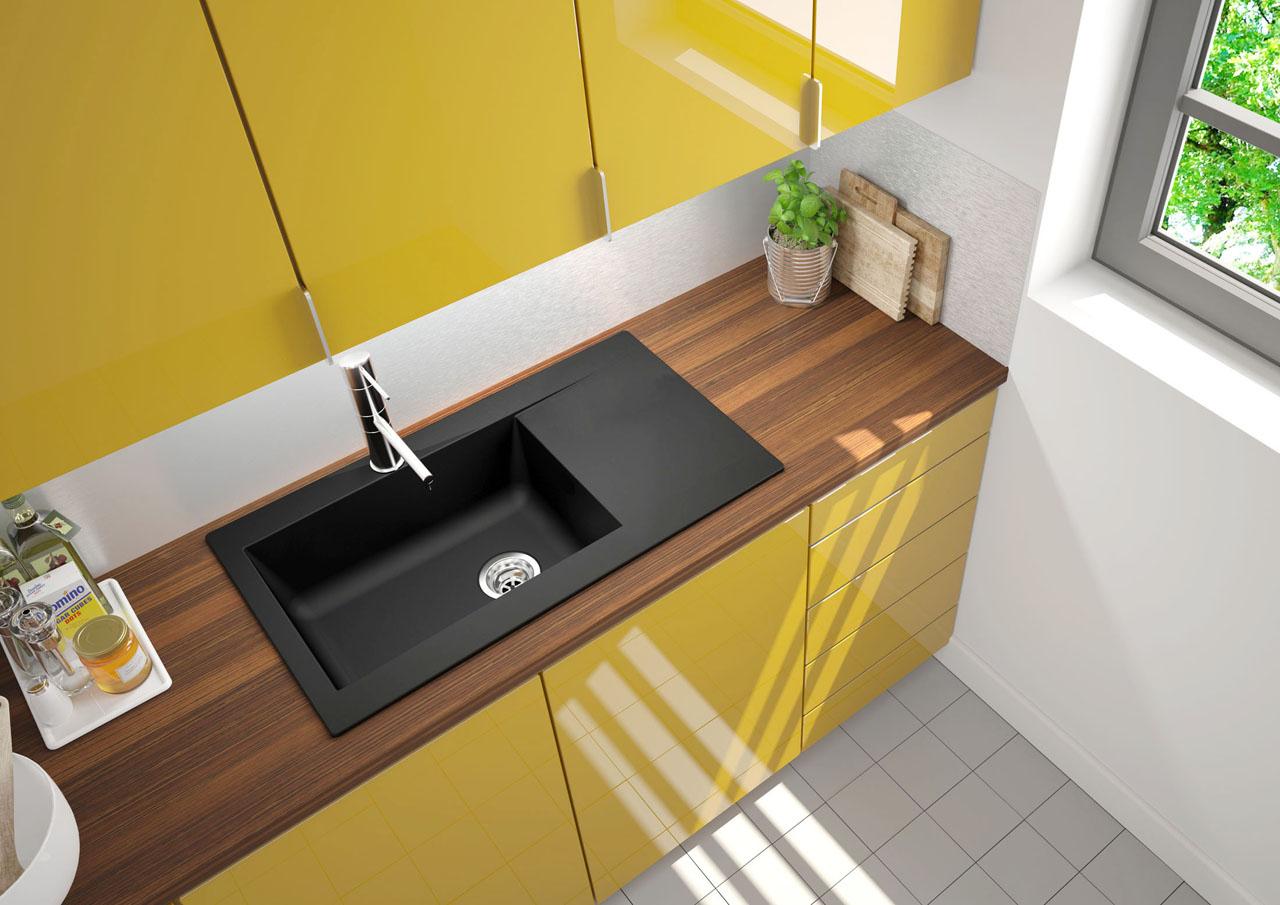image 3d d'un évier dans une cuisine