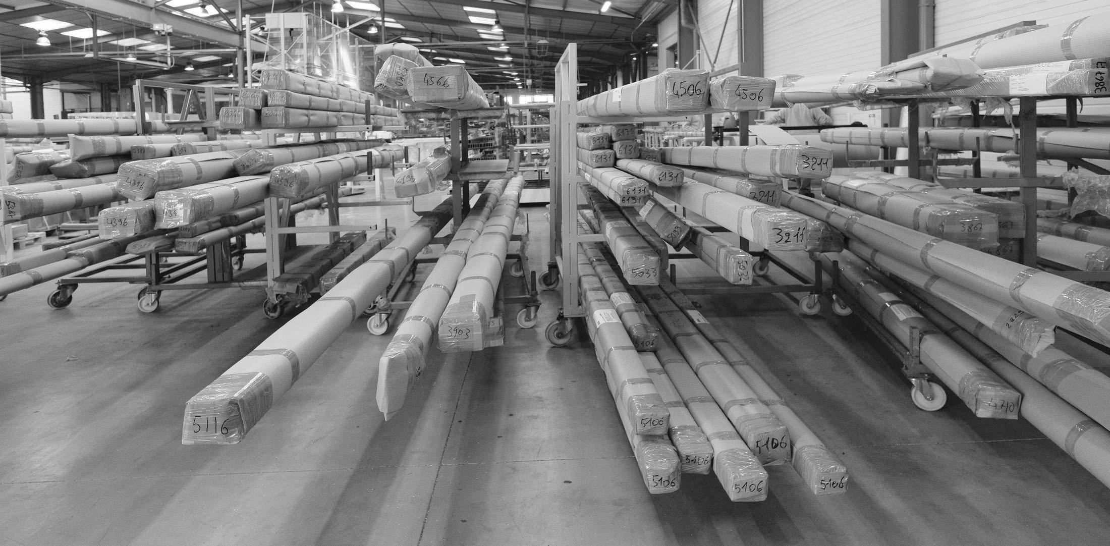 Reportage, photo du stock industriel