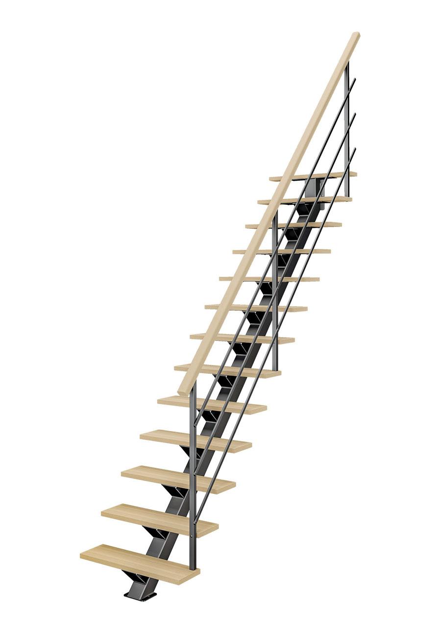 Image 3d d'un Escalier détouré sur fond blanc