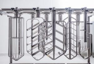 Reportage industriels - photo d'outils pour pétrin destiné aux boulangers